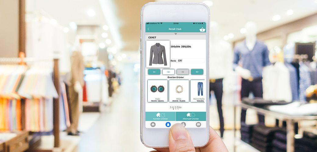 perakende sektöründe mağaza içi ürün envanter gibi işleri kolayca yapabilmektedir